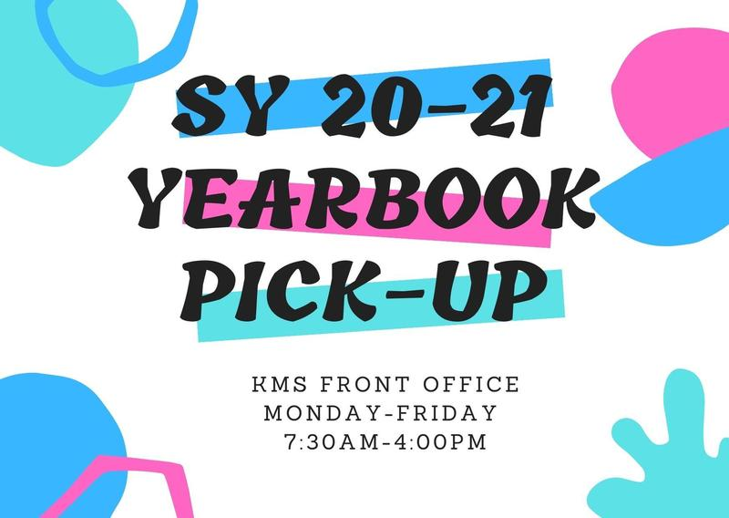Yearbook Announcement Flyer with the same information as the Flyer