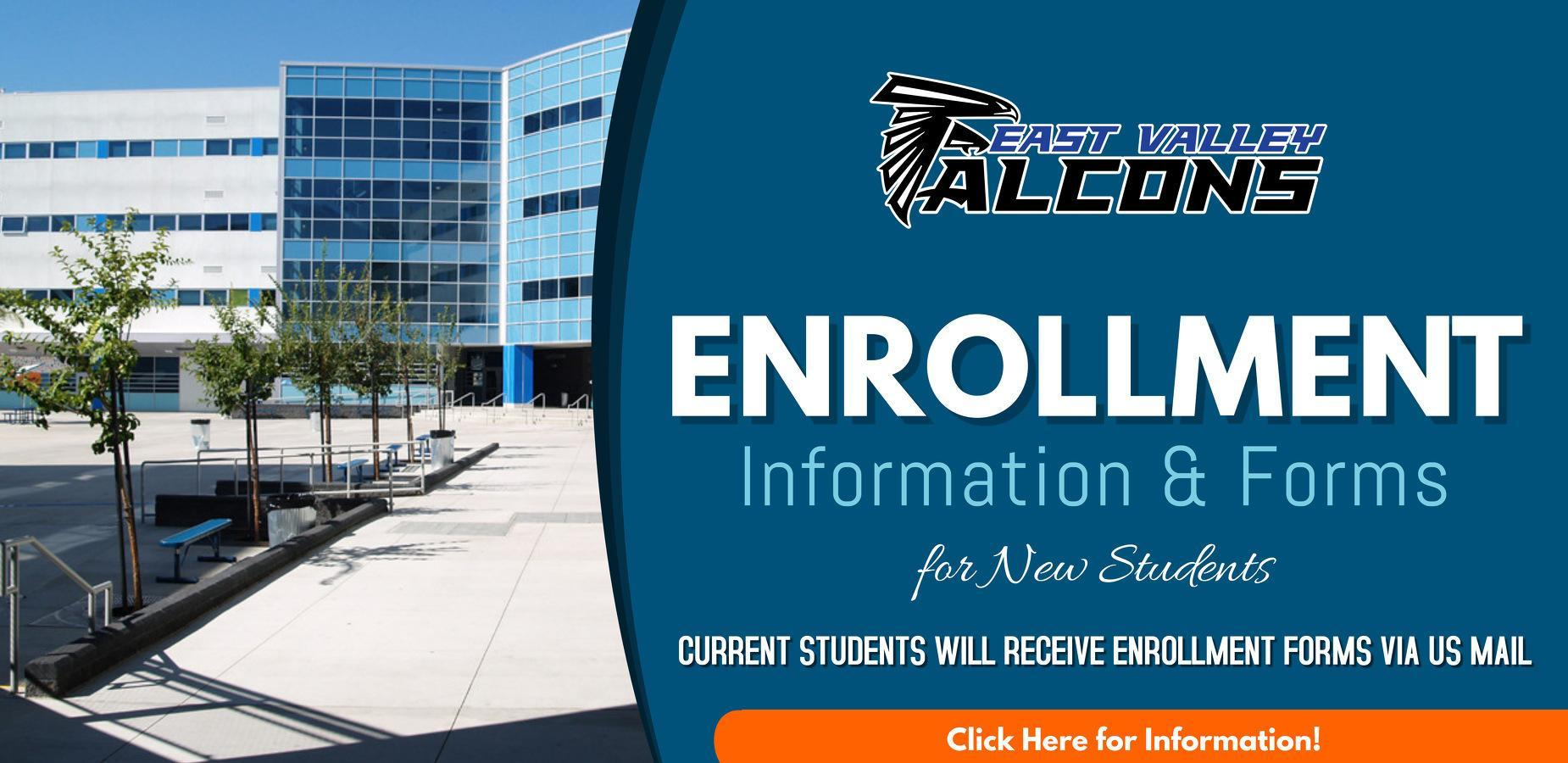 Enrollment Information for New Students