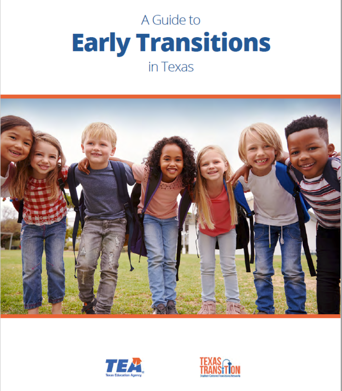 Guide cover with a group of smiling early childhood students