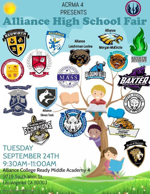 1st Annual Alliance High School Fair Thumbnail Image