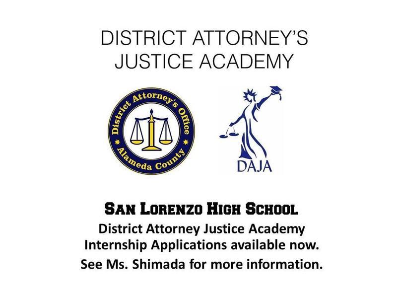 District Attorney's Justice Academy Internship Featured Photo