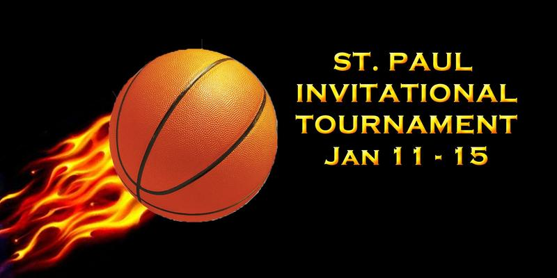 St. Paul Varsity Invitational Basketball Tournament at SPAA - Jan 11, 12, 14, 15 Thumbnail Image