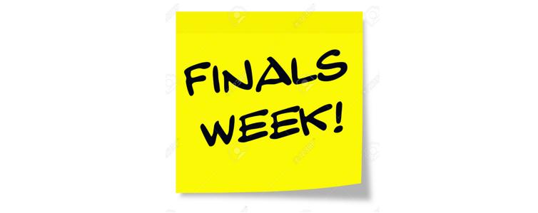 Finals Schedule Thumbnail Image