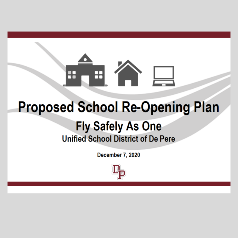 Proposed re opening plan