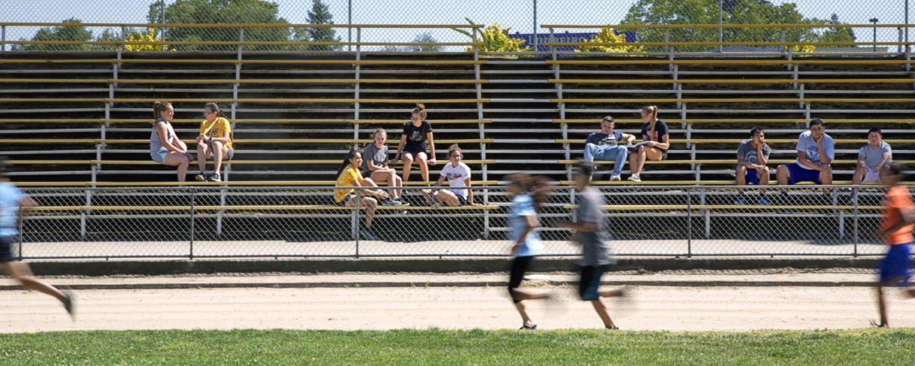 student track