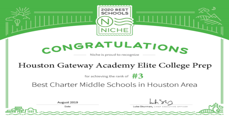 HGA Elite Campus #3 in Niche Rankings