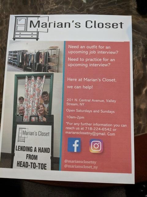 marian's closet