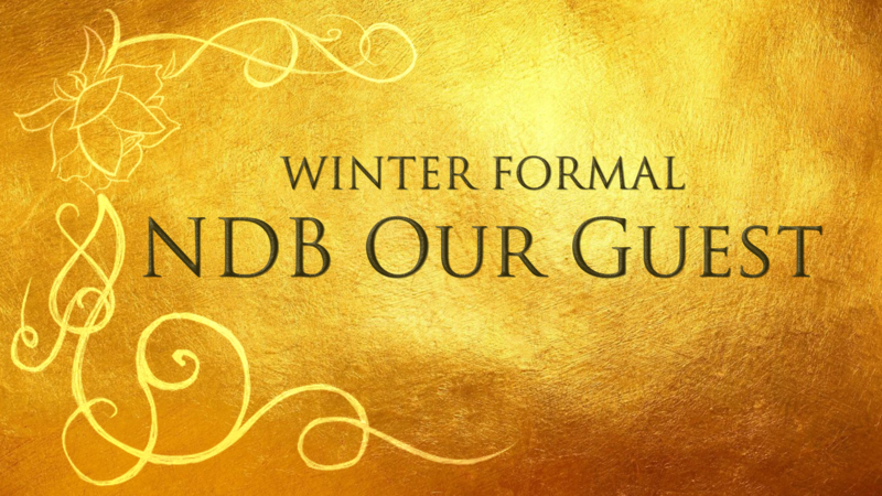 Winter Formal: NDB Our Guest (Tickets) Thumbnail Image