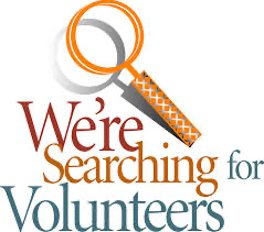 We're Searching for a Volunteer