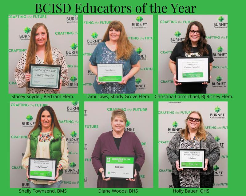 Campus Educators of the Year Announced Thumbnail Image
