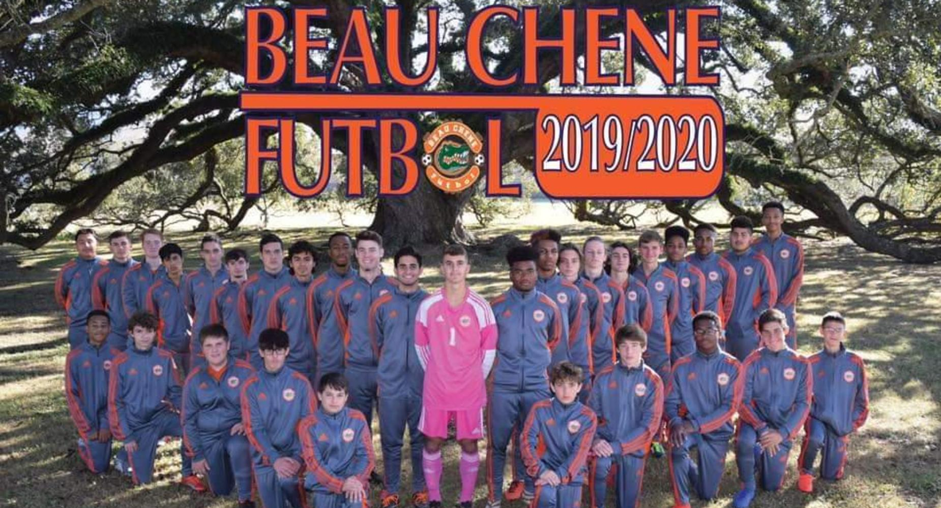 Beau Chene High School Soccer Team ~ 2019-2020