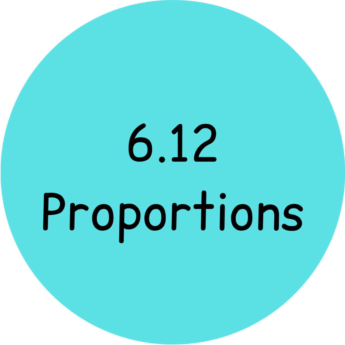 6.12 proportions