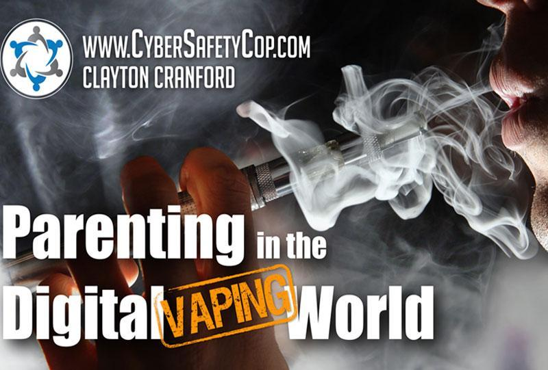 Parenting in a Digital VAPING World Presentation Featured Photo