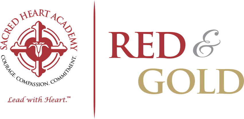 red gold red gold sacred heart academy