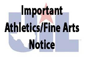 All UIL Athletic & Fine Arts Suspended Featured Photo