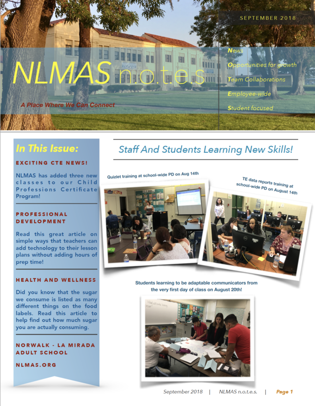 NLMAS September n.o.t.e.s! Featured Photo