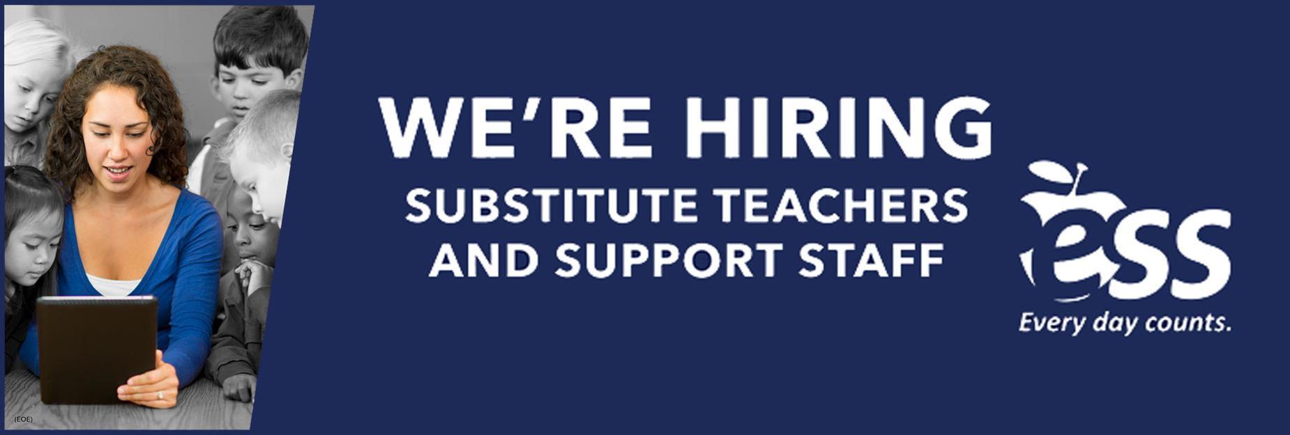 Ess substitute hiring