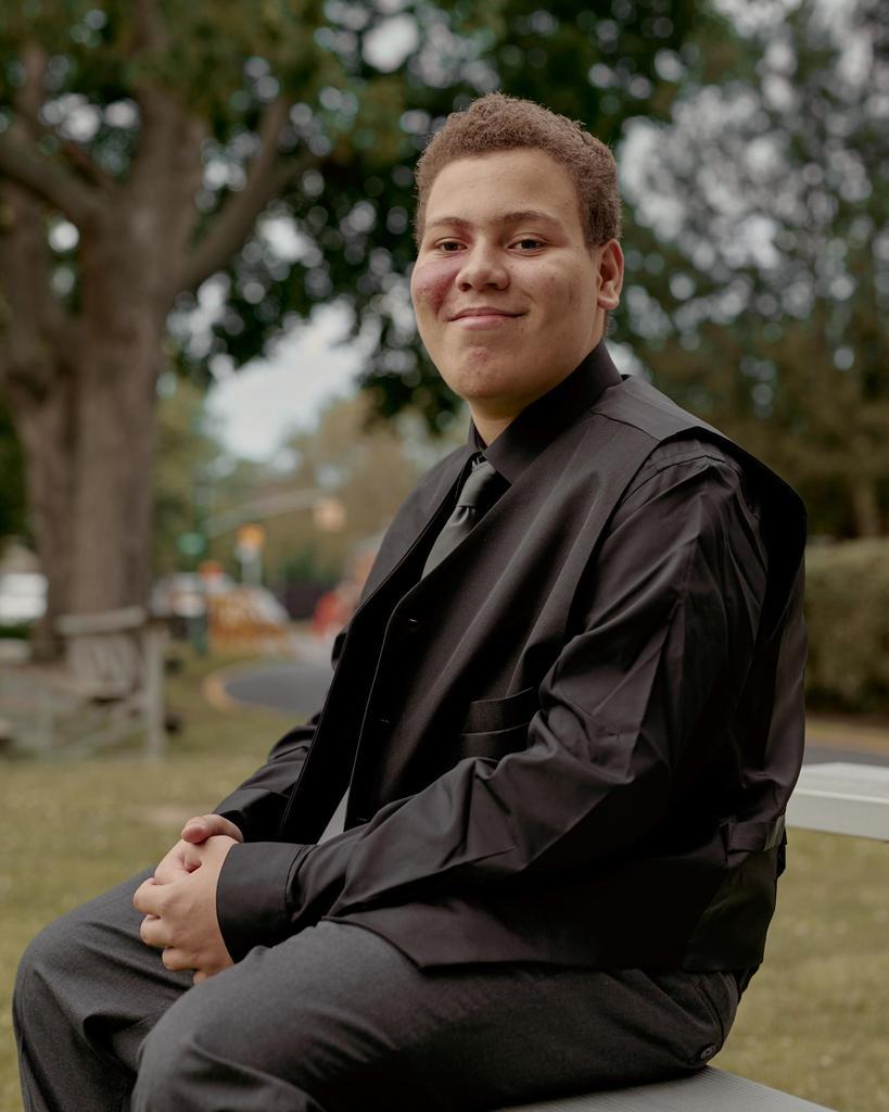 Cameron Dotzler smiling