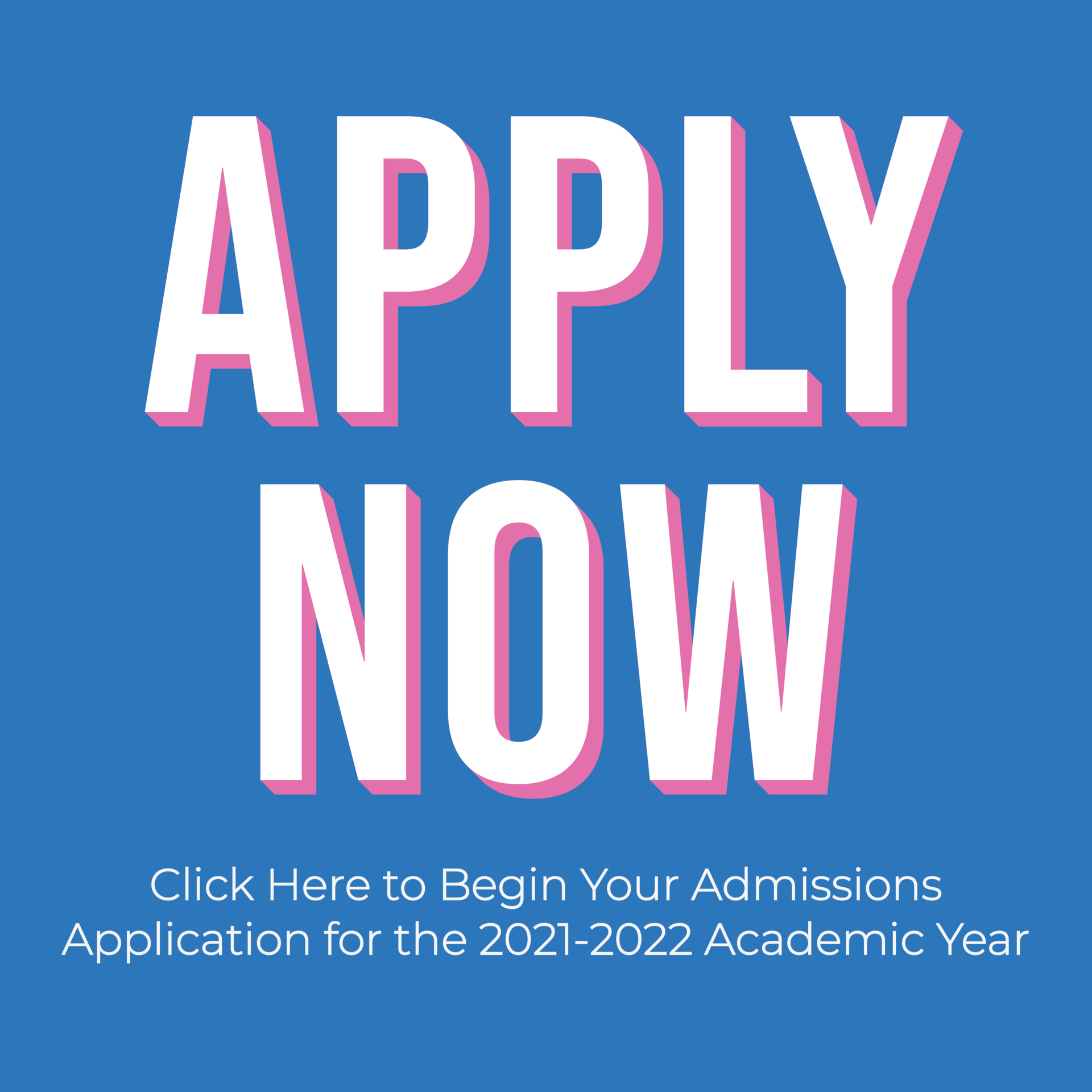 Apply Now Admissions