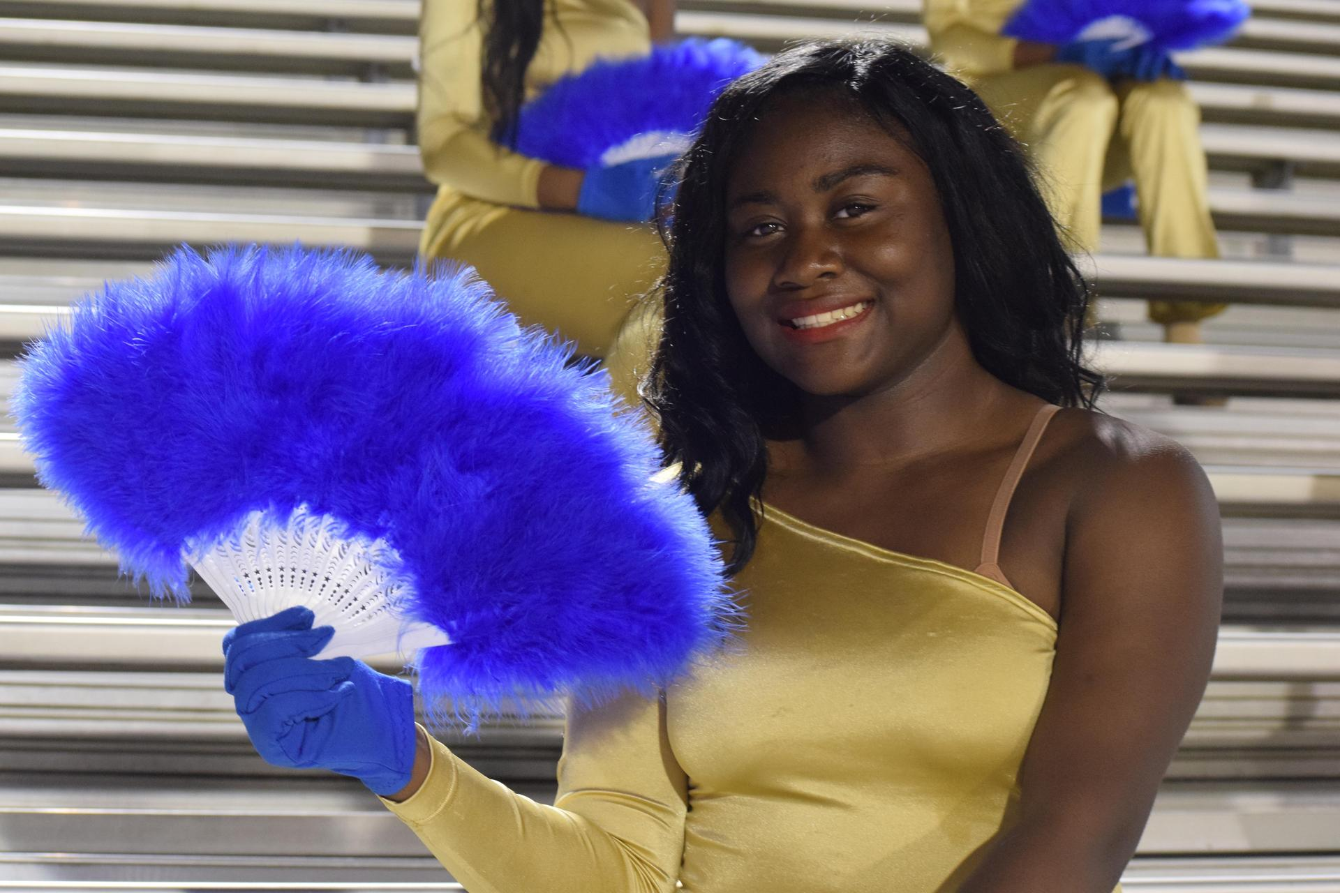 Natchez High School Gold and Bluez Dancers