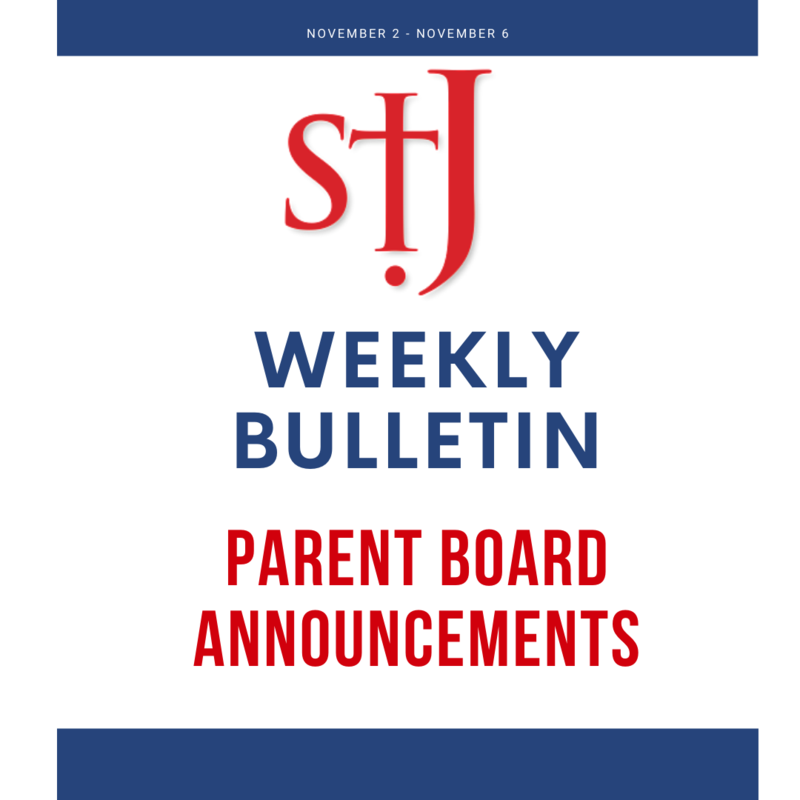 Weekly Announcements Parent Board Featured Photo