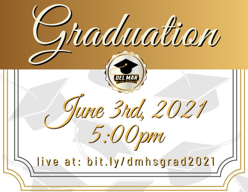 del mar high school graduation june 3 2021