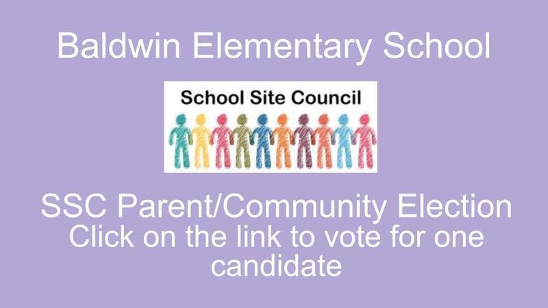 School Site Council Parent/Community Election Ballot Featured Photo