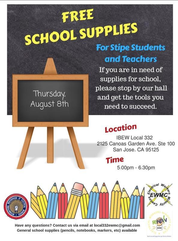 Free School Supplies