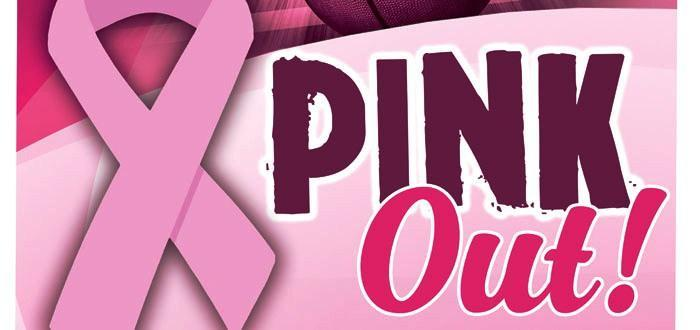 Pink Out text