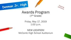 Denman Junior High School Awards Ceremony 2019