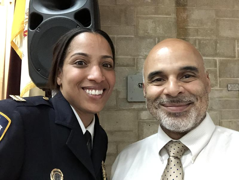 The Maspeth High School Community Welcomes Captain Victoria Perry Featured Photo
