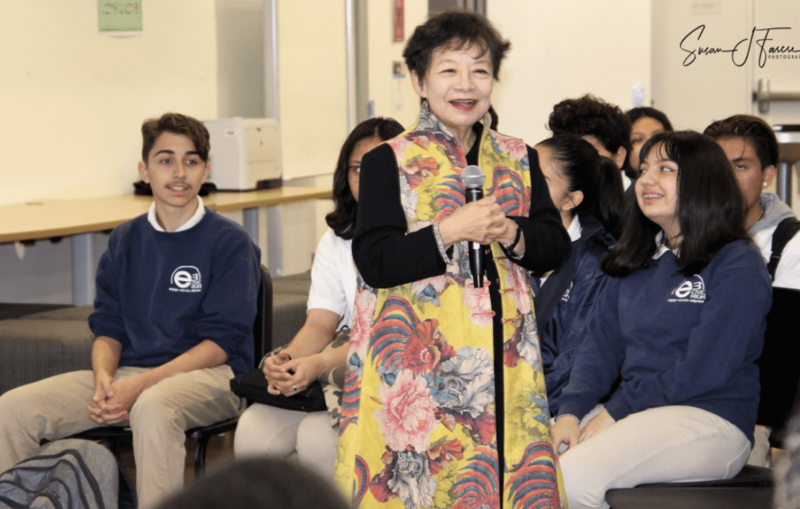 Lady Zhaojun at e3 Civic High School Featured Photo