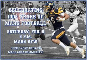 Celebrating 100+ Years of Mars Football