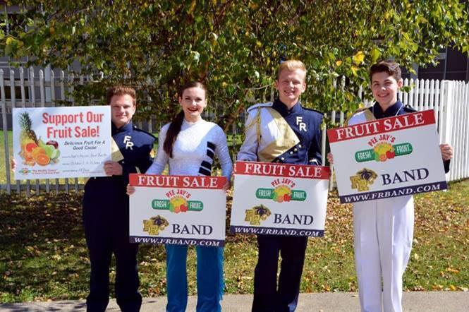 FR Panther Marching Band Fruit Sale