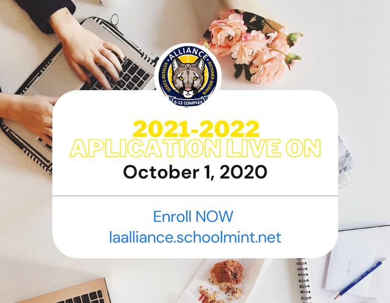 Open Enrollment for 2021-2022 Begins October 1st 2020. The lottery deadline is November 1, 2020 Thumbnail Image