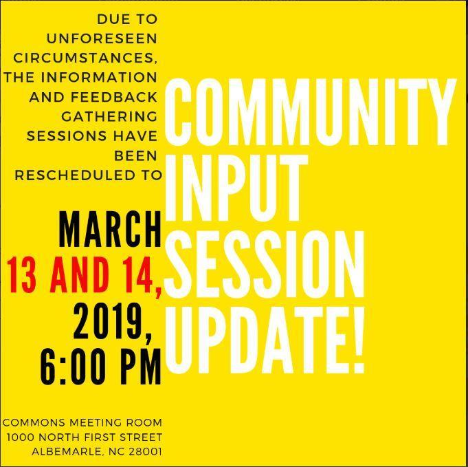 Community Input Session Update! Featured Photo