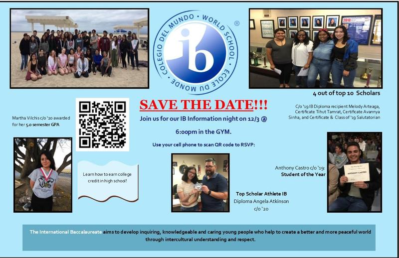IB Save the Date