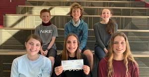 Magnolia Intermediate Lone Star Leadership Students Donate $750 to Make A Wish Foundation