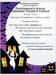 Halloween Flyer English