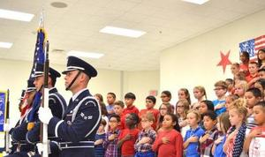 Veteran's Day Program at Oak Ridge