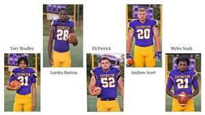 Covington High Football players selected to All State Team. Featured Photo
