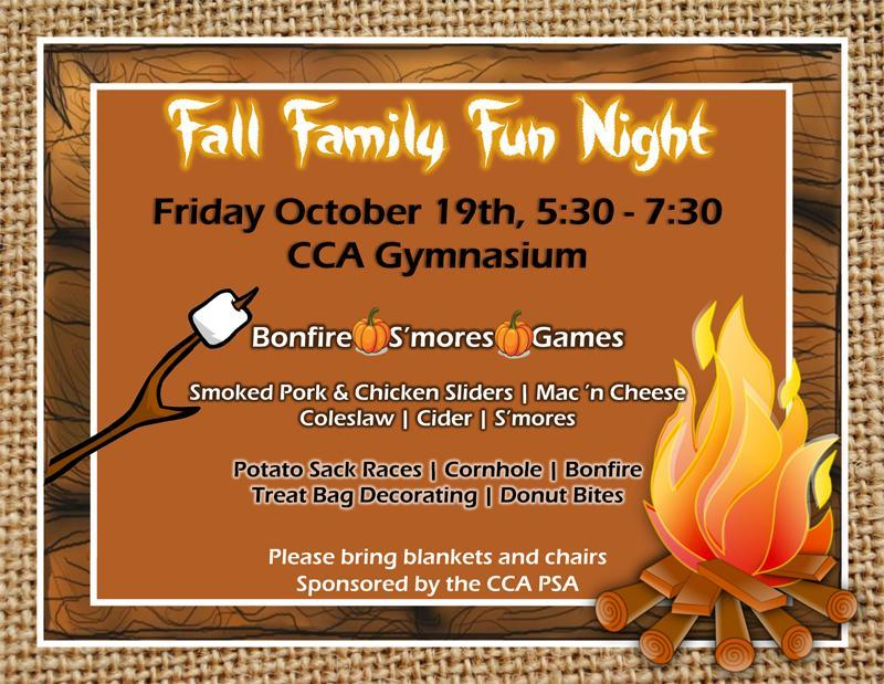 Save the Date! Fall Family Fun Night (JK-8) Featured Photo
