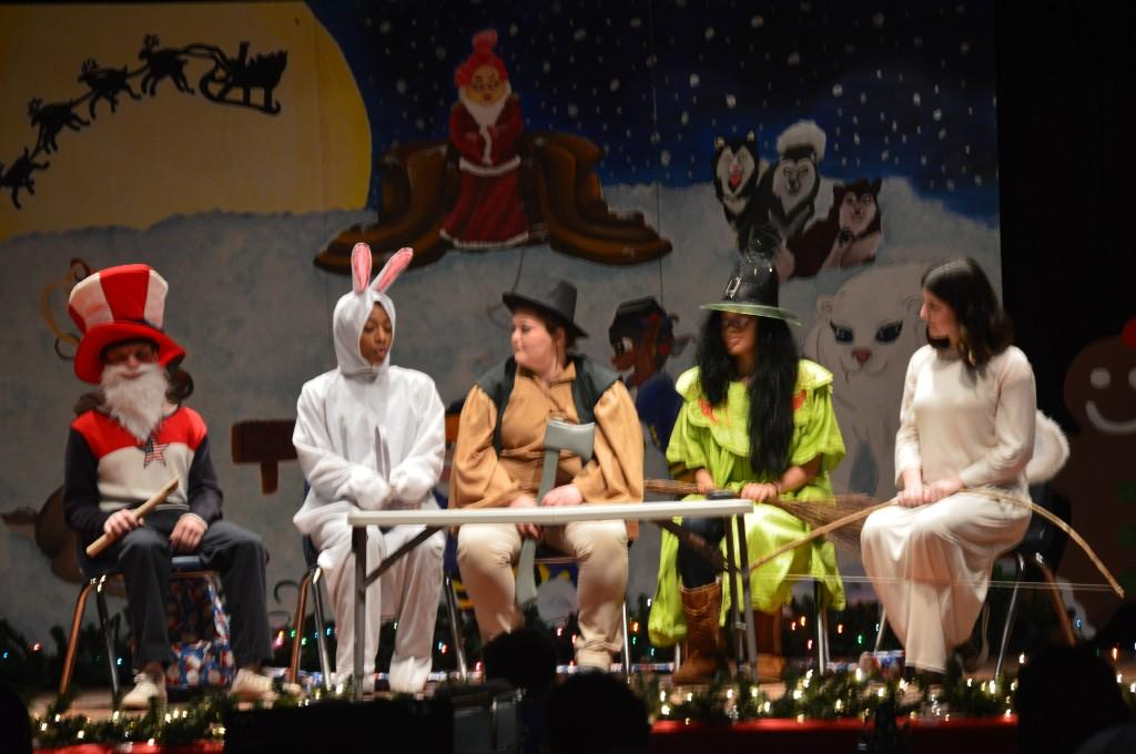 MACA Theater Students presenting during the Holiday Arts Gala