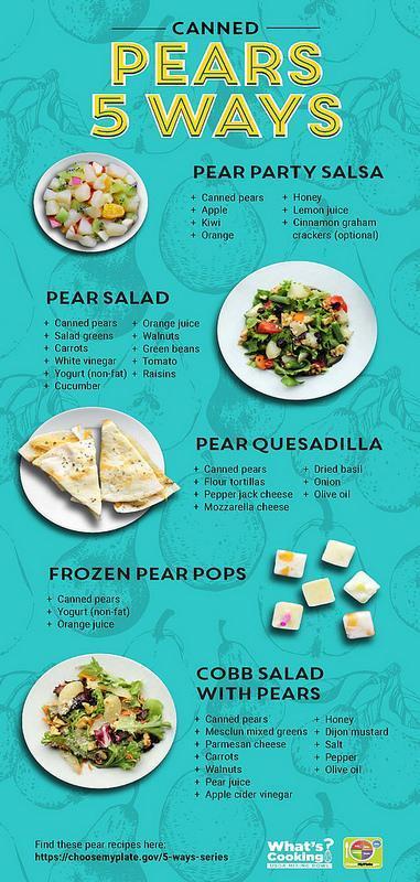 pear 5 ways
