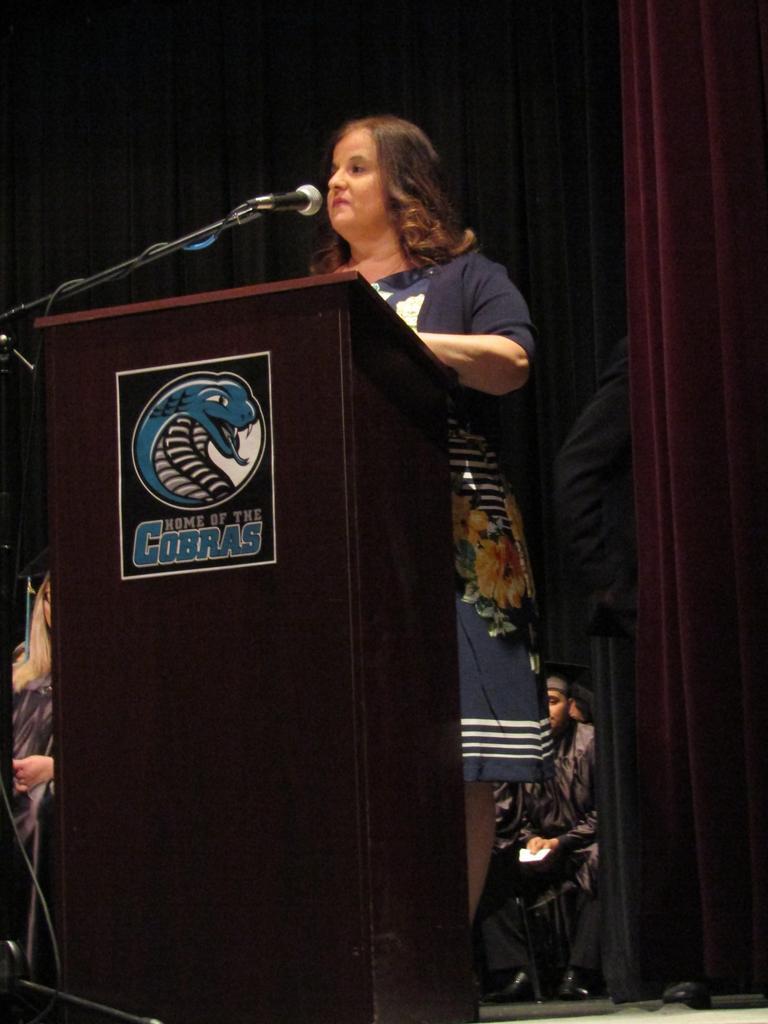 Graduation 2018: Student of the Year Presentation