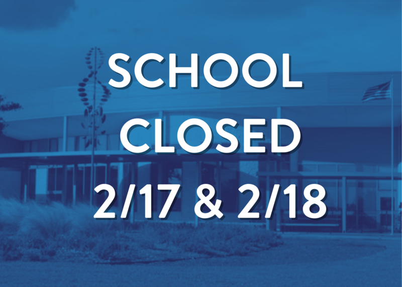 School remains closed Wed. 2/17 and Thurs. 2/18 Featured Photo
