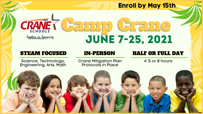 Camp Crane - Summer School 2021 Featured Photo