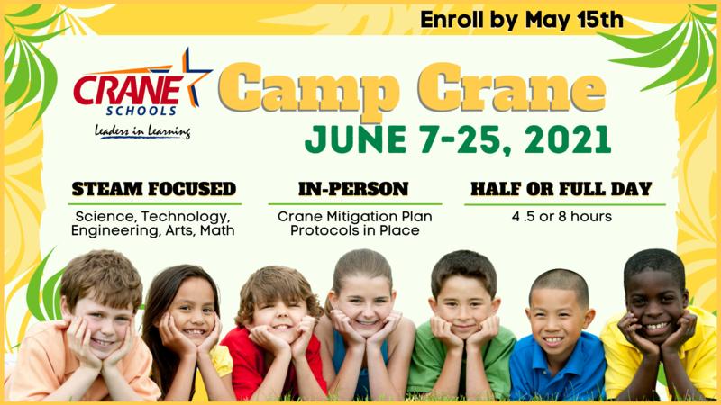 Camp Crane - Summer School 2021 Featured Photo