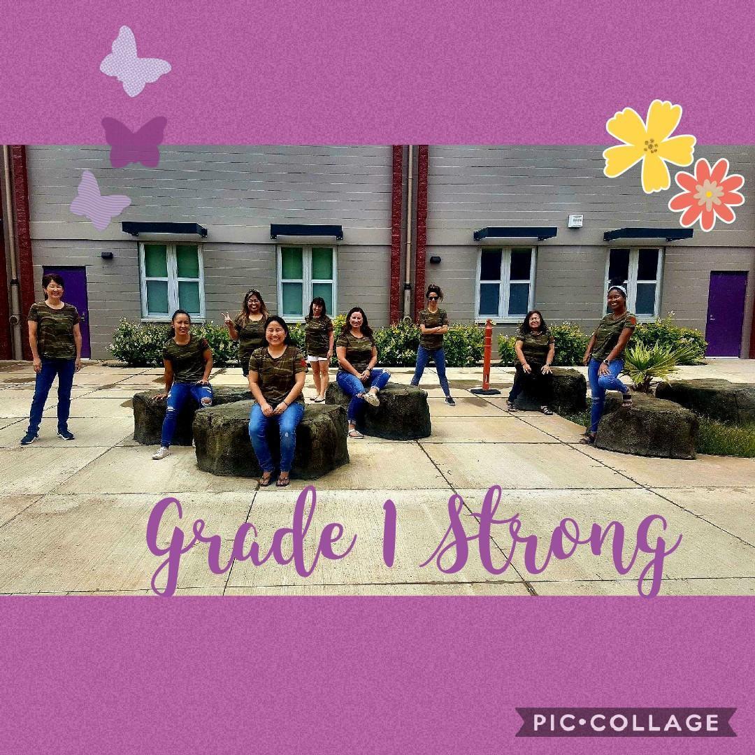 Grade 1 Team