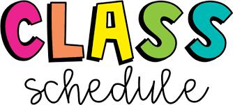 class schedule pic